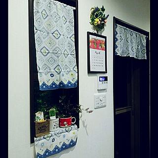 壁/天井/セリア/手芸大好き/お花のある生活❁/観葉植物のある暮らし...などのインテリア実例 - 2018-04-29 01:31:02