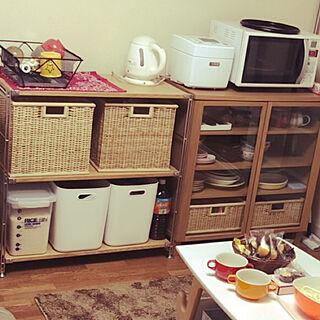 片付けやすい/DIY/2DK古いアパート/こどものいる暮らし/賃貸...などのインテリア実例 - 2020-03-16 13:21:23