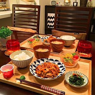女性家族暮らし3LDK、おうちごはんに関するhiroさんの実例写真