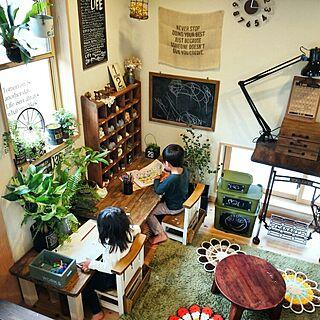 squ+/ichikaちゃんのステンシル/手作り黒板つきsqu+/ichikaちゃん♡/リビング...などのインテリア実例 - 2015-06-06 12:40:40
