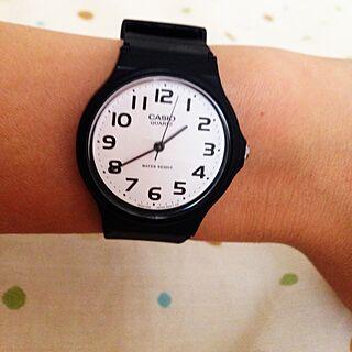 、CASIOの腕時計に関するkomameさんの実例写真