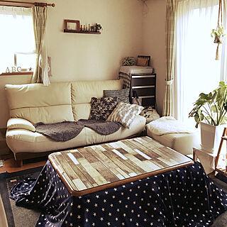 女性41歳の家族暮らし4LDK、しまむらのマルチカバーに関するchiekawa63さんの実例写真