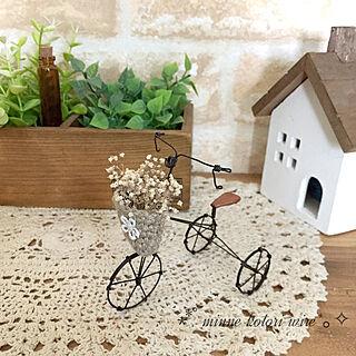 女性家族暮らし4LDK、ワイヤー三輪車に関するkotoriさんの実例写真