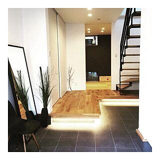 玄関/入り口/和室/グリーンのある暮らし/階段/間接照明...などのインテリア実例 - 2016-11-18 14:42:26