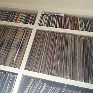 棚/CDラック/レコードスペース/レコード棚のインテリア実例 - 2012-10-03 09:46:12