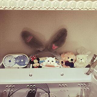 女性家族暮らし2LDK、カチューシャに関するmeshiさんの実例写真