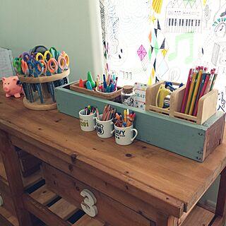 女性家族暮らし、色鉛筆に関するhanaさんの実例写真