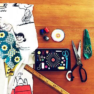 女性45歳の家族暮らし4LDK、裁縫は苦手なのですに関するtkさんの実例写真