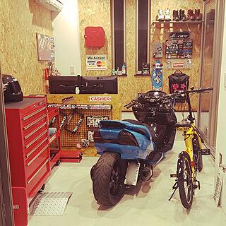 男性29歳の一人暮らし、バイク スクーターに関するsukabusaikyoさんの実例写真