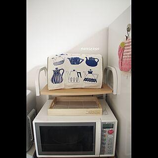 女性36歳の家族暮らし2LDK、電子レンジ購入♡に関するkyaoさんの実例写真