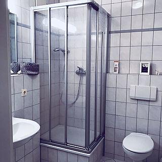 女性42歳の家族暮らし2LDK、シャワーに関するpompomさんの実例写真