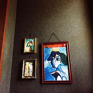 バス/トイレ/絵画/romantic/アンティーク/KLIMT...などのインテリア実例 - 2016-07-14 09:09:35