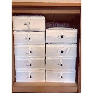 女性家族暮らし4LDK、布団収納に関するtiisanakumaさんの実例写真