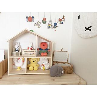 ドールハウス/IKEA/子供と暮らす家/インテリア/ナチュラル...などのインテリア実例 - 2019-09-15 13:43:41