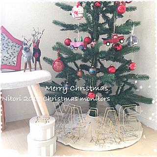 女性49歳の家族暮らし4LDK、クリスマスに関するnodokaさんの実例写真
