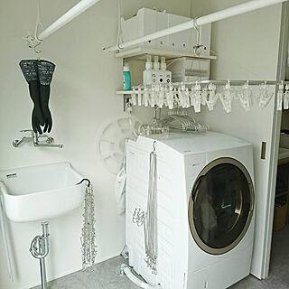 女性36歳の家族暮らし3LDK、無印良品のタオルに関するt.t.t.kaoさんの実例写真
