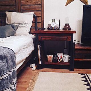 ベッド周り/journal standard Furniture/一人暮らし/暮らしの一コマのインテリア実例 - 2018-09-01 12:07:48