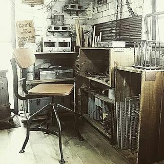 女性家族暮らし、作業机に関するreksさんの実例写真