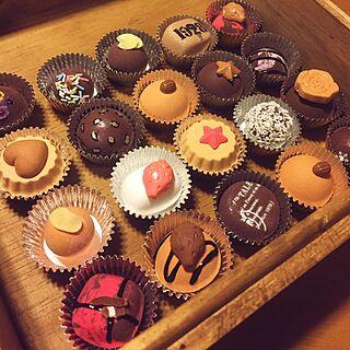 女性40歳の家族暮らし、チョコレートの箱に関するbimoさんの実例写真