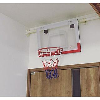 壁/ミニバスケットボード/リビング入り口/ミニバスケ/ミニバスケットボール...などのインテリア実例 - 2019-03-12 08:59:07