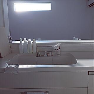 女性家族暮らし3LDK、ホワイトキッチンに関するxxxmayuxxxさんの実例写真