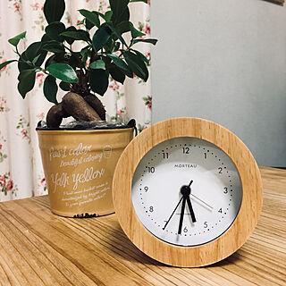 部屋全体/お気に入り/かわいい/目覚時計/電波時計のインテリア実例 - 2018-05-08 17:34:45