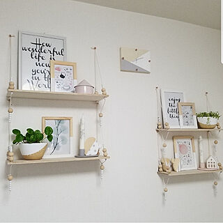 女性の、2DK、家族住まいの「部屋全体」についてのインテリア実例