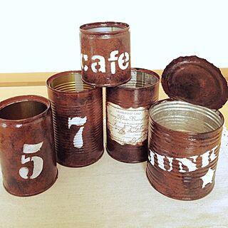 女性家族暮らし、リメ缶難しい…に関するSatoさんの実例写真