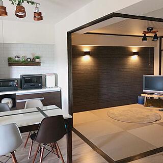 家族暮らし3LDK、琉球畳に関するhnk2622さんの実例写真