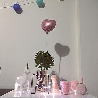 女性28歳の1DK、fairy lightsに関するmarry6さんの実例写真
