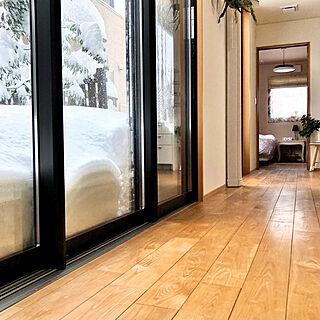 YKKap/掃き出し窓/季節を楽しむ暮らし/二世帯住宅/無垢の床...などのインテリア実例 - 2021-01-09 16:48:51