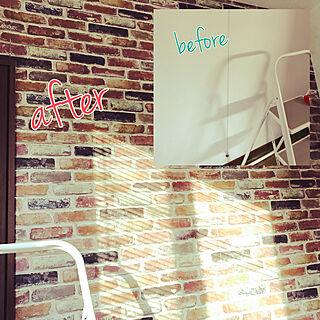 製作過程/GWにDIY/壁紙DIY/壁紙屋本舗/壁紙...などのインテリア実例 - 2019-05-06 09:17:12