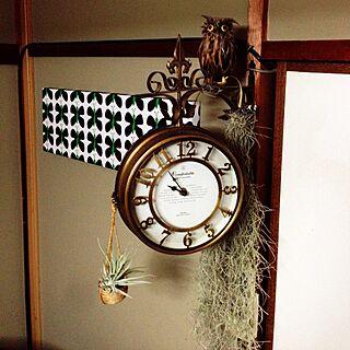 壁/天井/県住/植物/ハンドメイド/時計...などのインテリア実例 - 2014-03-09 21:57:18