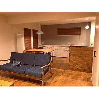 女性28歳の家族暮らし4LDK、家具の配置に関するMitsumuさんの実例写真
