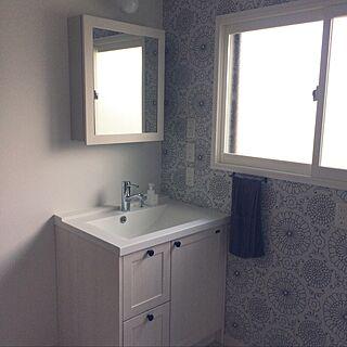 、ウッドワンの洗面台に関するma_toさんの実例写真