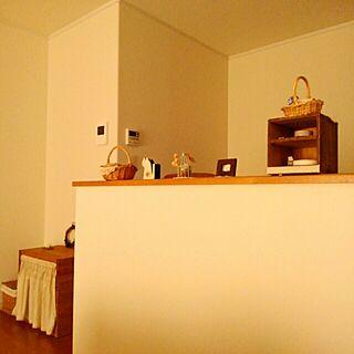 キッチン/カフェ風/ほっこり*/ナチュラル*/好きなもの♡...などのインテリア実例 - 2016-02-11 13:59:56