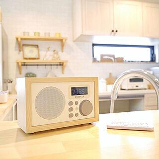 女性家族暮らし4LDK、Bluetoothに関するmayuさんの実例写真