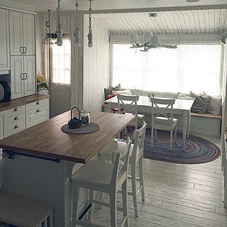 キッチン/海外風/海外インテリアに憧れる/IKEAの椅子/IKEA...などのインテリア実例 - 2016-08-03 10:34:27