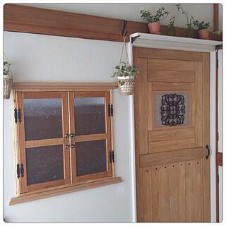 部屋全体/アンティーク/シンプルが好き/襖をドア風に/和室...などのインテリア実例 - 2016-05-22 13:25:12