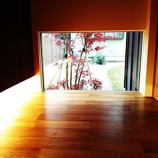 女性家族暮らし2LDK、地窓に関するsonaさんの実例写真