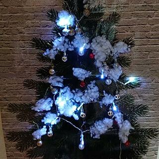 リビング/100均/セリア/クリスマス/いいねありがとうございます(╹◡╹)♡...などのインテリア実例 - 2018-12-20 22:34:21