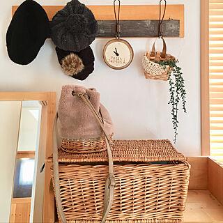 棚/ナチュラルキッチン/和室の一角/木製ブラインド/SM2のカゴバック...などのインテリア実例 - 2018-12-22 10:04:23