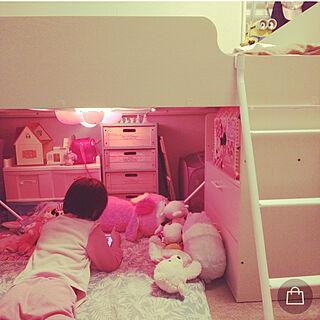 女性家族暮らし2LDK、キッズスペースに関するShochanさんの実例写真