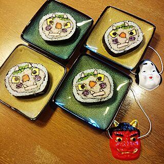 女性家族暮らし2LDK、恵方巻きに関するRITOWAさんの実例写真