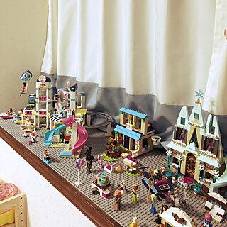 レゴフレンズ/LEGO/レゴ/子供と暮らす。/子供のいる暮らし...などのインテリア実例 - 2018-06-20 20:59:00