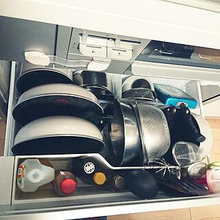 家族暮らし3LDK、部屋一部に関するmiaoさんの実例写真