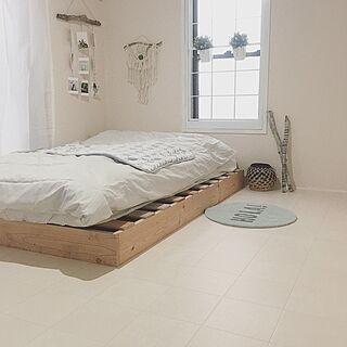 ベッド周り/IKEA/ボヘミアン/DIY/海を感じるインテリア...などのインテリア実例 - 2017-03-15 15:21:13