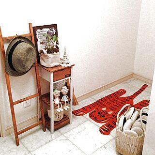 玄関/入り口/雑貨とか/植物のインテリア実例 - 2013-06-14 01:08:07