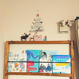 女性44歳の家族暮らし4LDK、絵本に関するakiko--24さんの実例写真