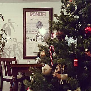 リビング/クリスマス/オーナメント/クリスマスツリー/賃貸...などのインテリア実例 - 2016-11-27 18:58:49